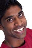 Homem indiano de sorriso imagem de stock royalty free