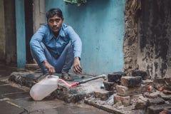Homem indiano novo Fotografia de Stock Royalty Free