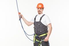 Homem industrial do montanhista Fotos de Stock