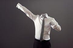 Homem invisível no vestuário formal imagens de stock royalty free