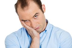 Homem irritado Imagem de Stock Royalty Free
