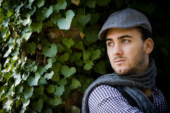 Homem italiano novo imagens de stock