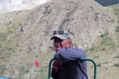Homem kirguiz, Maida Adyr Fotos de Stock Royalty Free