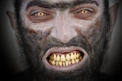 Homem-lobo. imagem de stock