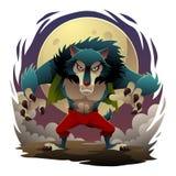 Homem-lobo Imagem de Stock Royalty Free
