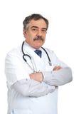 Homem maduro amigável do doutor Imagens de Stock
