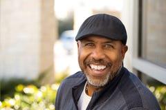 Homem maduro do americano africano Fotos de Stock Royalty Free