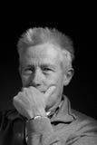 Homem mais idoso sério Foto de Stock Royalty Free