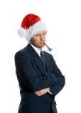 Homem mal-humorado Fotografia de Stock Royalty Free