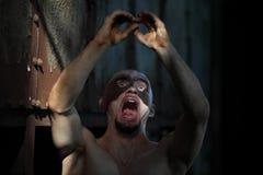 Homem mascarado imagens de stock
