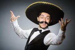 Homem mexicano imagens de stock