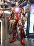 Homem MK 43 do ferro nos vingadores: Idade de Ultron Foto de Stock