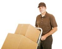 Homem movente considerável Foto de Stock