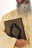 Homem muçulmano, barba longa Imagens de Stock Royalty Free