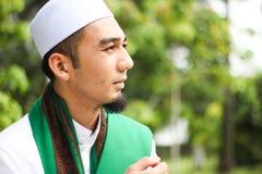Homem muçulmano de sorriso Fotografia de Stock Royalty Free