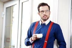 Homem muito considerável Foto de Stock Royalty Free