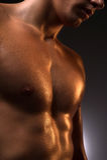 Homem muscular. Imagens de Stock Royalty Free