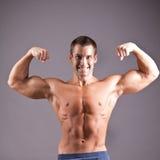 Homem muscular fotos de stock royalty free