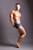 Homem muscular imagens de stock