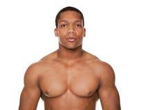 Homem muscular forte foto de stock royalty free