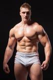 Homem muscular no roupa interior Foto de Stock