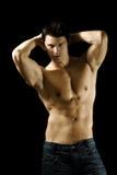 Homem muscular 'sexy' Imagens de Stock