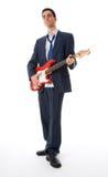 Homem musical imagens de stock royalty free