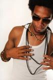 Homem na moda do latino fotos de stock royalty free
