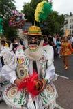 Homem na parada de carnaval 2012 do verão imagens de stock royalty free