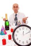 Homem na tabela foto de stock royalty free