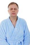 Homem na veste de banho imagens de stock