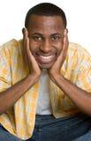 Homem negro Imagem de Stock Royalty Free