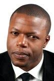 Homem negro considerável Fotografia de Stock