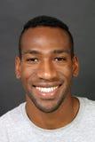 Homem negro considerável, Headshot (1) Fotografia de Stock Royalty Free