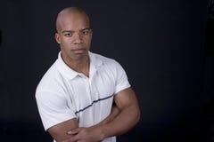 Homem negro novo fotos de stock royalty free