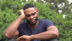 Homem negro triste filme