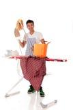 Homem nepalês considerável novo, passando Imagem de Stock Royalty Free