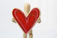 Homem no amor Fotografia de Stock Royalty Free