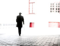 Homem no chapéu Fotos de Stock