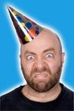 Homem no chapéu do partido Foto de Stock