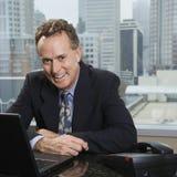 Homem no escritório. Fotos de Stock Royalty Free