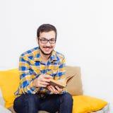 Homem no estúdio Foto de Stock