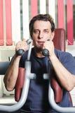 Homem no exercício Foto de Stock