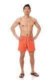 Homem no roupa de banho Fotos de Stock Royalty Free