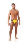 Homem no Swimwear Fotos de Stock