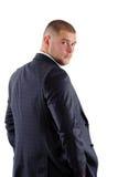 Homem no terno Fotografia de Stock Royalty Free