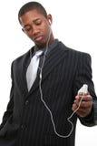 Homem no terno de Pinstrip imagem de stock royalty free
