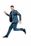 Homem no terno engraçado Foto de Stock