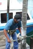 Homem no trabalho Foto de Stock Royalty Free