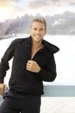 Homem novo ativo feliz Imagem de Stock Royalty Free